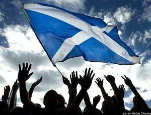 Scotland's National flag