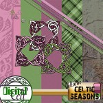 The Celtic season of Beltane mini kit