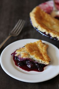 blaeberry pie
