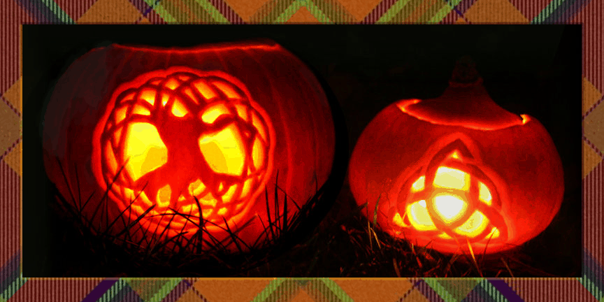 Celtic Samhain Pumpkins