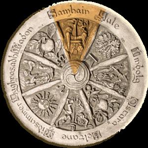 Celtic Wheel Samhain