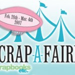 Scrap-a-Faire Starts Wednesday!