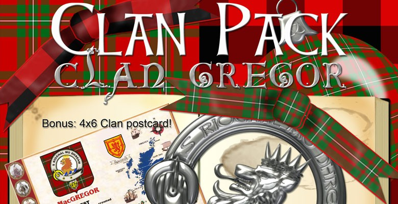 Clan Pack: MacGregor with Bonus Printable!