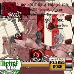 Red, Red Rose Digi Kit