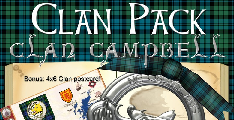 Clan Pack: Campbell – with Bonus Printable!