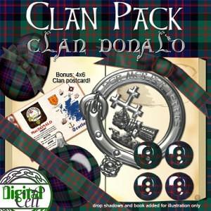 Clan Pack: MacDonald with Bonus Printable!